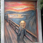 Scream inspired at Grounds For Sculpture