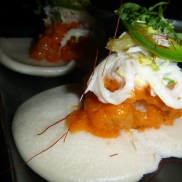 Spicy Rock Shrimp Bao Buns Buddakan AC