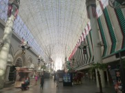 Under the dome on Fremont Street Dwntwn Las Vegas #eatgostay