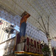 Neon Cowboy on Fremont Street in Downtown Las Vegas #eatgostay