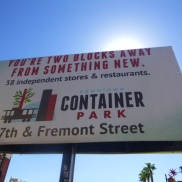 Visit downtown container park east freemont street #eatgostay