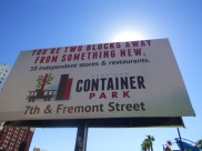 Walk this way to Container Park in downtown Las Vegas #eatgostay