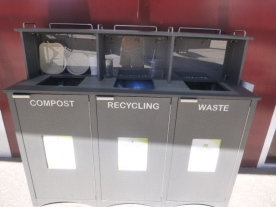 recycling educational center at downtown container park east freemont street las vegas #eatgostay
