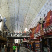 Walking around Fremont Street in Downtown Las Vegas #eatgostay