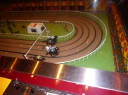 Vintage horse racing track at the D Hotel Las Vegas #eatgostay