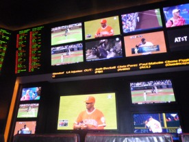 Sports book in Caesars Las Vegas #eatgostay