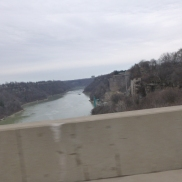 Niagara River from Rainbow bridge