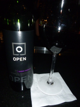 Gamay Merlot blend Wine by Open Ruth's Chris Steak House Niagara Falls Ontario Canada