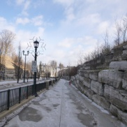 The hill I skipped down to see the Niagara Falls Ontario Canada