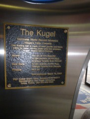 The Kugel water spinning ball