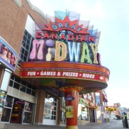 Midway on Clifton Hill Niagara Falls Ontario Canada