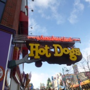 Even hot dogs get fancy on Clifton Hill Niagara Falls Ontario Canada
