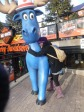 Blue Moose and I on Clifton Hill Niagara Falls Ontario Canada