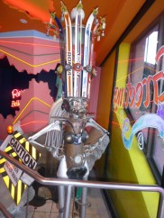 Medusa statue at Ripley's Believe it or not on Clifton Hill Niagara Falls Ontario Canada