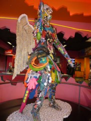 Toy Angel at Ripley's Believe it or not on Clifton Hill Niagara Falls Ontario Canada 3