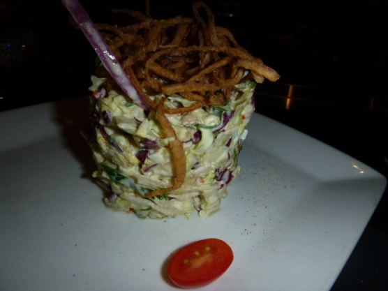 Chopped Salad from Ruth's Chris Steak House Niagara Falls Ontario Canada