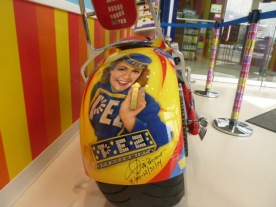 Pez Girl on tank of PEZ motorcycle by Orange County Choppers