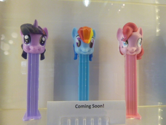 Newest PEZ candy dispensers as of 4.1.15