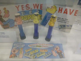 Popeye PEZ dispensers