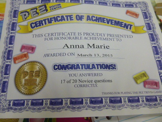 Take the PEZ challenge and get certified!