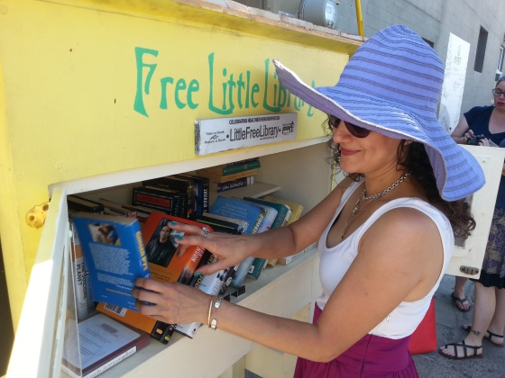 FREE books from the little Library